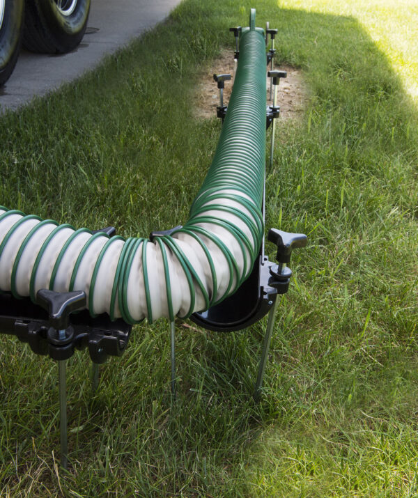 Waste Master Hose Extended and Bent