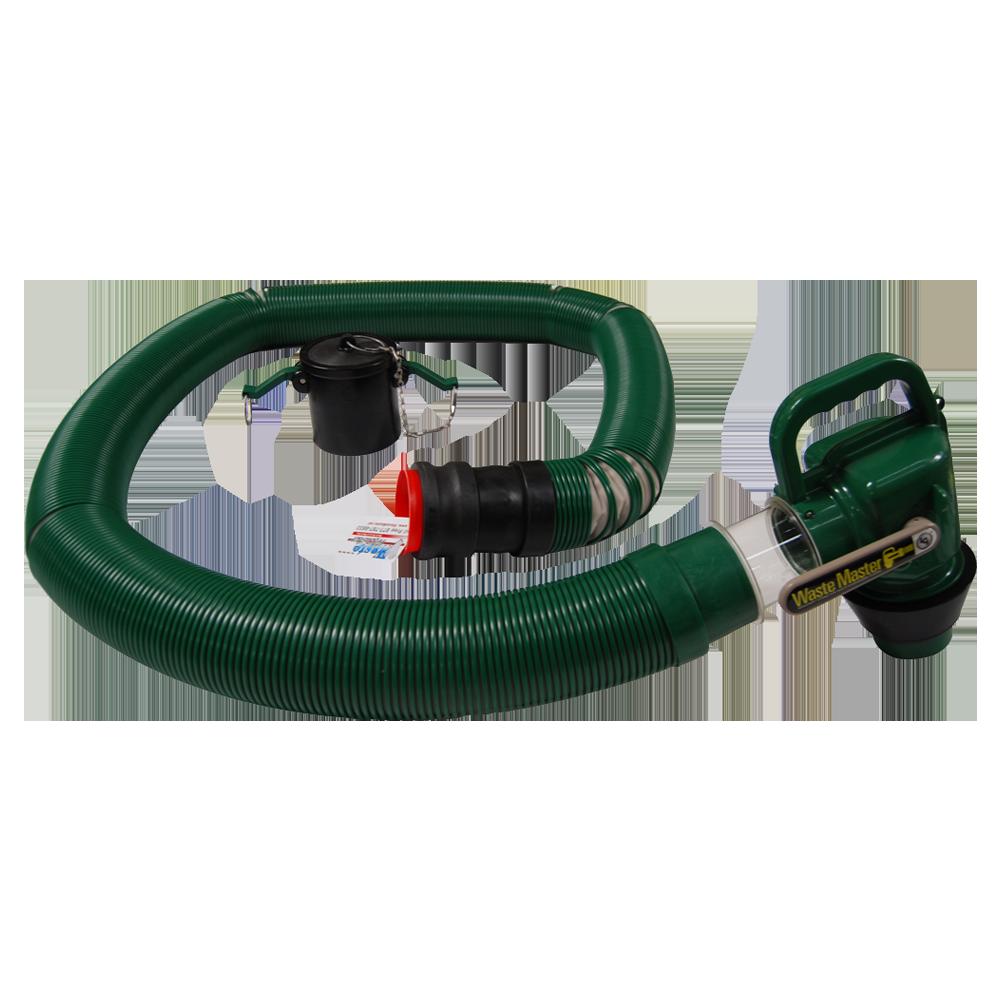Waste hose square